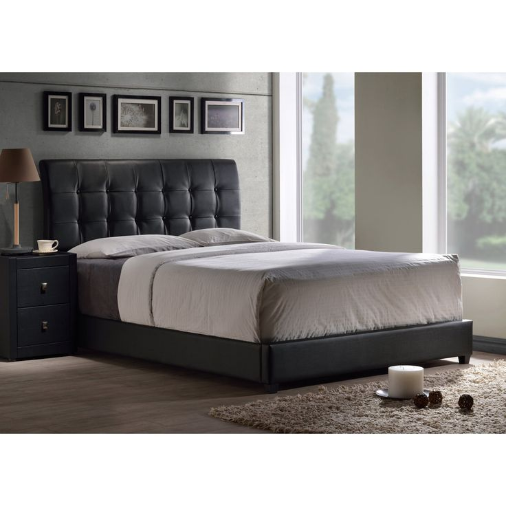 Hillsdale Lusso Upholstered Low Profile Bed - HL4076