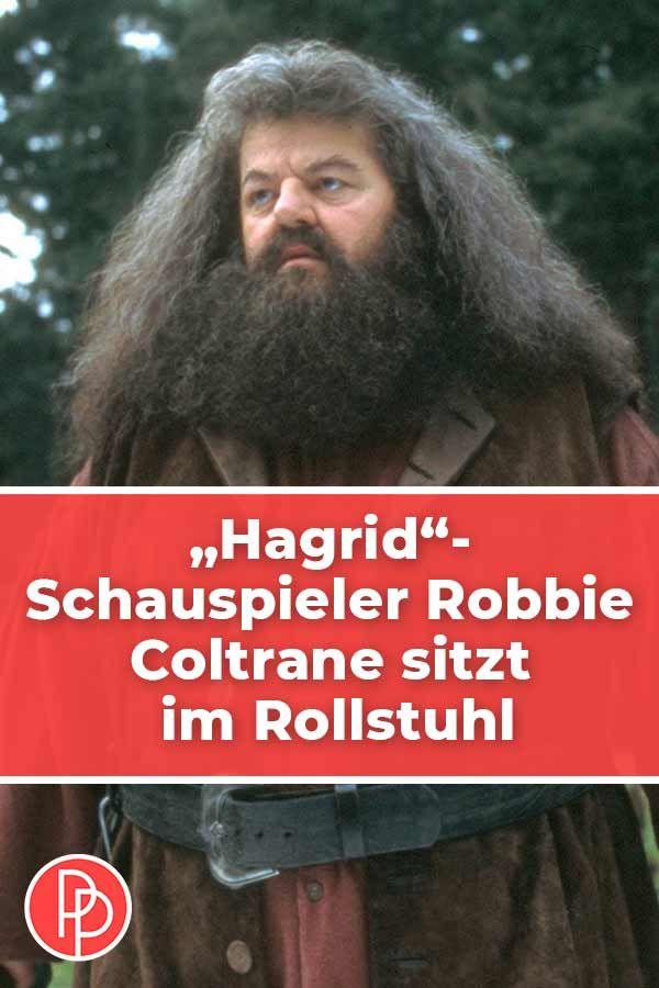 Hagrid Schauspieler Robbie Coltrane Sitzt Im Rollstuhl Robbie Coltrane Schauspieler Universal Orlando