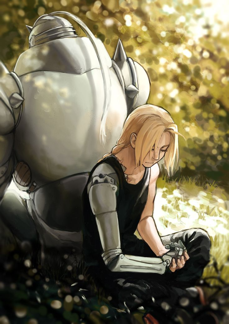 Elric Brothers by gehirnkaefer
