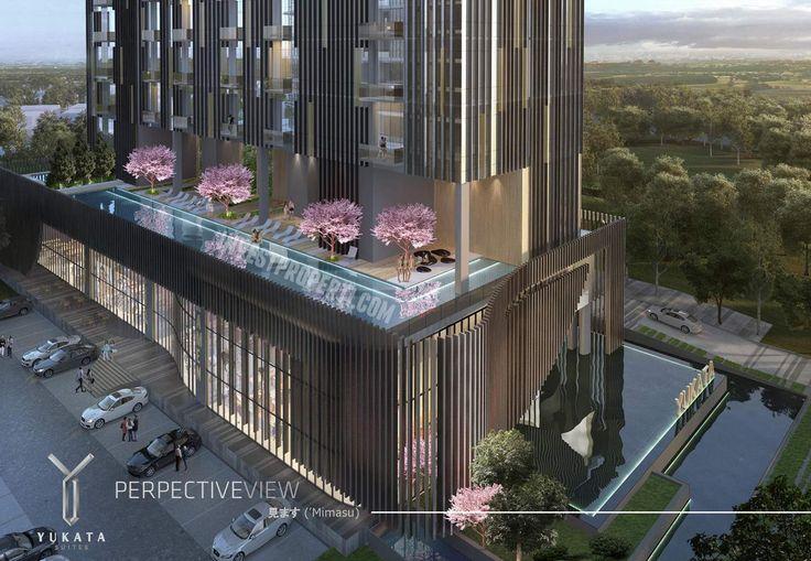 Yukata Apartment Balcony @ Alam Sutera.
