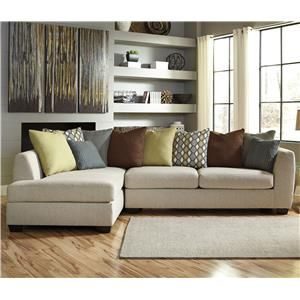 Wonderful Casheral Contemporary Sectional With Left Chaise U0026 Loose Back Pillows By  Benchcraft At Marlo Furniture