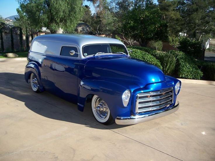 181 best panel trucks images on pinterest classic trucks for American classic customs