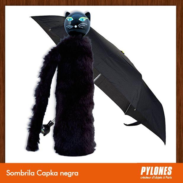 #Sombrilla Chapka negra @pylonesco Pylones Colombia #navidad #regalos #pylones #noviembre — en Colombia.