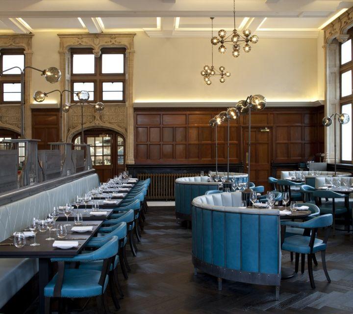 One Kensington bar and restaurant by B3 Designers, London