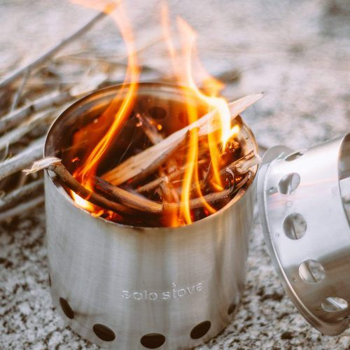 Solo Stove Lite Wood Burning Stove For Camping Or