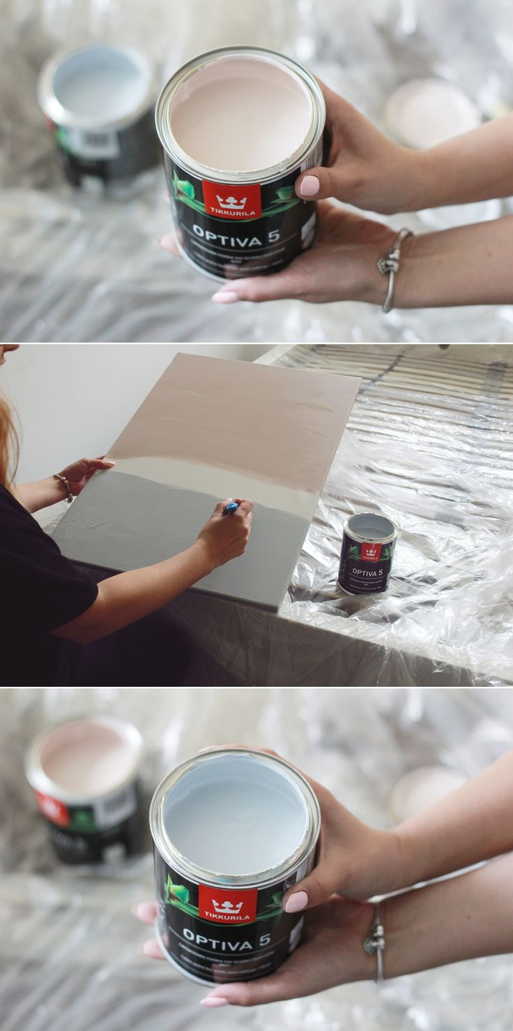 Dekoracje do sypialni z wykorzystaniem palety Hazy z kolekcji Tikkurila Color Now 2017 - blogerka Kamperki.com