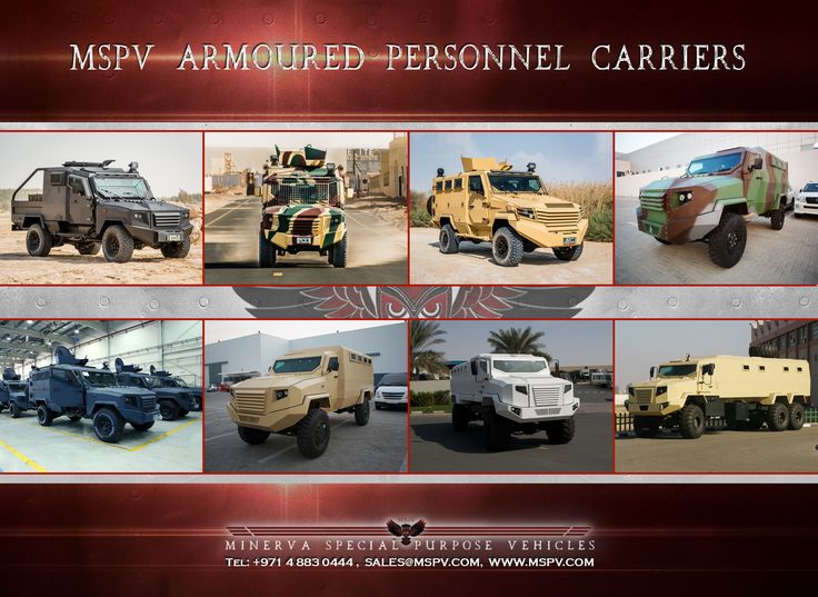 Armoured Personnel Carriers for Sale