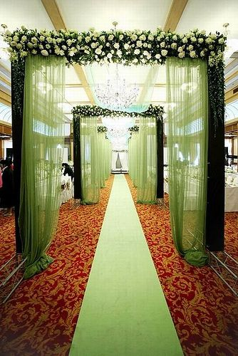 Green wedding theme | Flickr - Photo Sharing!