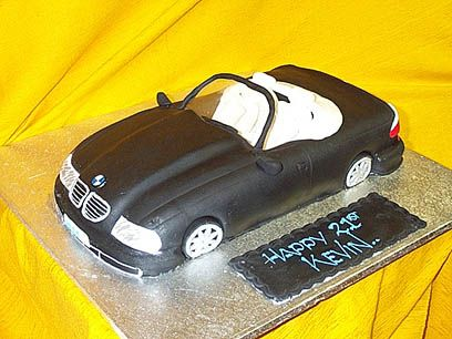 Bmw Car Cake Cake Cars Bmw Car Cakes Pinterest