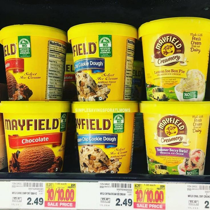Only $1.00 each for Mayfield Ice Cream at Kroger. Yes, I will take it! http://simplesavingsforatlmoms.net/2017/06/only-1-00-each-for-mayfield-ice-cream-at-kroger-yes-i-will-take-it.html