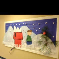 a charlie brown christmas bulletin board - Google Search