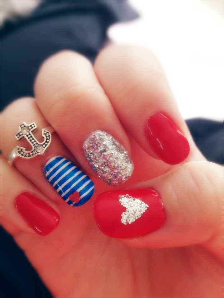 cool fourth of july nail designs