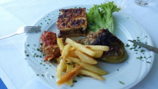 Greek food .