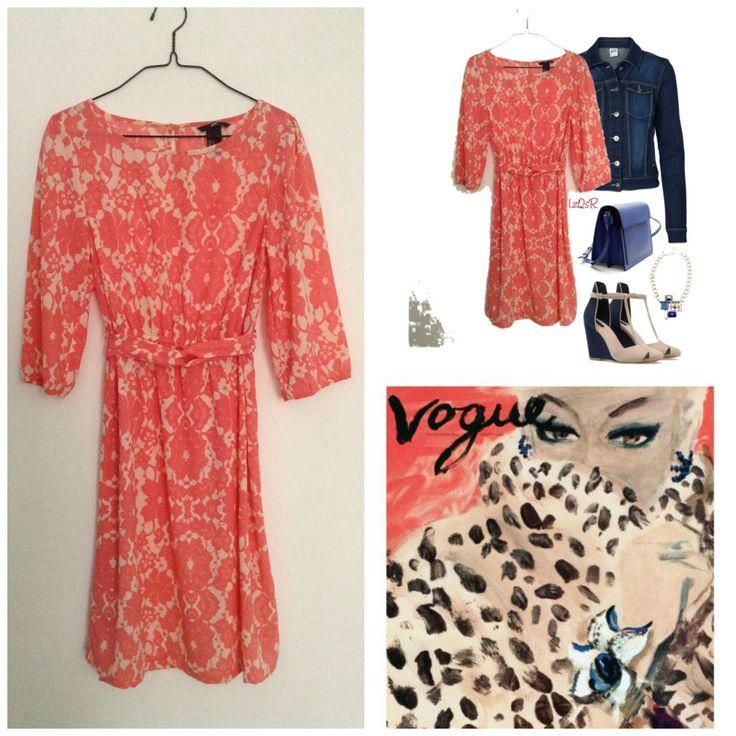 Venta ropa segunda mano Second hand http://loszapatosqueseanrojos.bigcartel.com #dress #h&m #secondhand #sales #segundamano #vestido #flowers #flores