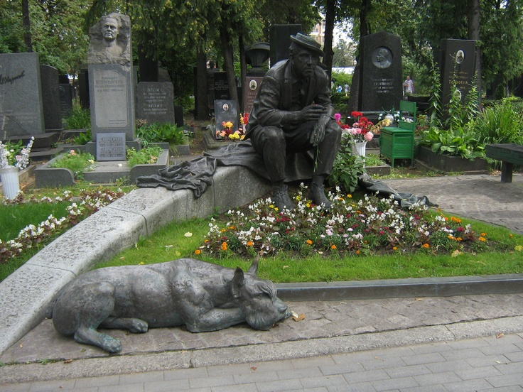 Nikulin - Cimitero di Novodevičij, Mosca