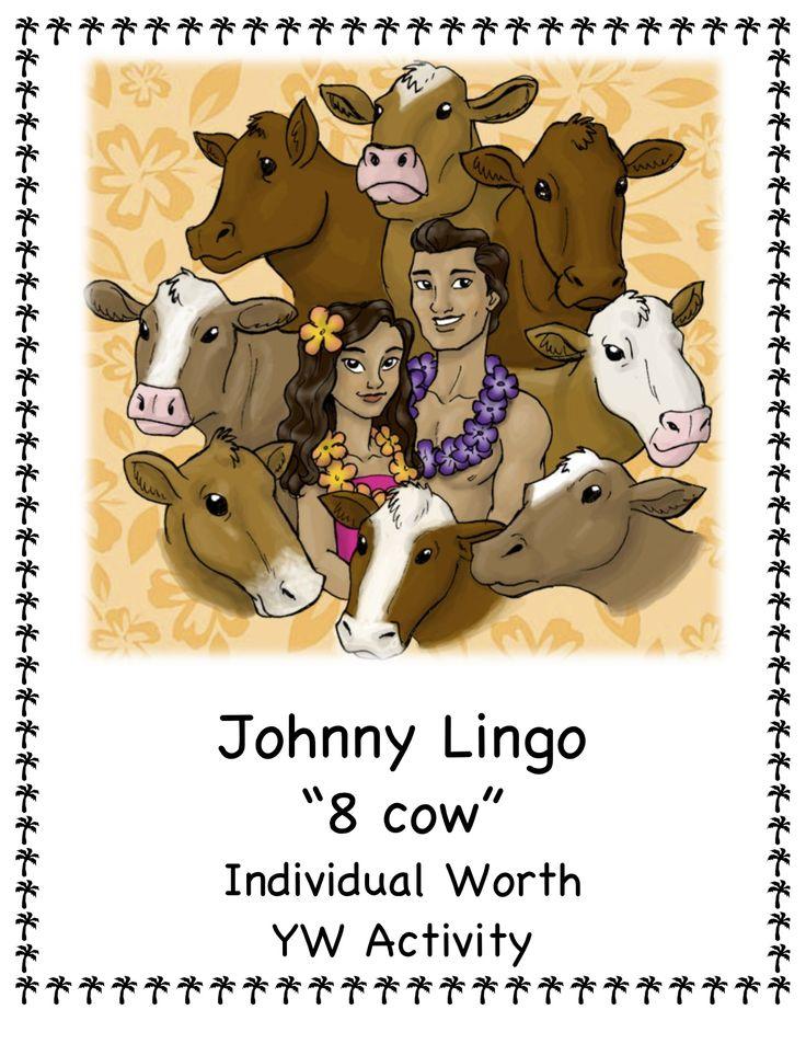 Johnny Lingo Activity Individual Worth Activity, Mutual Personal Progress Activity, Young Women Values