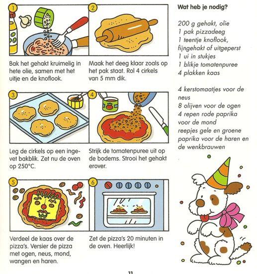 Koken met kleuters! | pizza