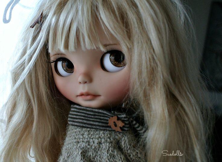OOAK Custom Blythe Art Doll Blossom Suedolls | eBay