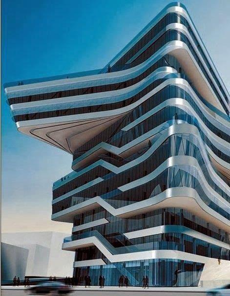 Spiral Tower | Zaha Hadid | #Barcelona #Architecture