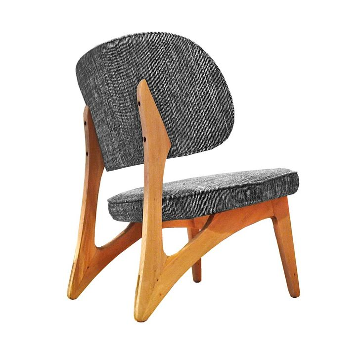 oak, danish, scandinavian, chair, mid century