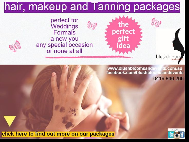 for #wedding packages with  #makeup from $70, #hair styling from $65 and spray tanning from $25, we offer a full range to all budgets with a mobile beauty service across Adelaide