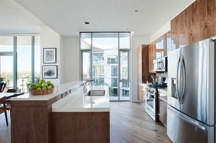 8500 Burton Way #kitchen #cucina #casedilusso #luxuryhomes http://www.lussocase.it/2013/02/8500-burton-way-appartamenti-di-lusso-in-affitto-los-angeles/