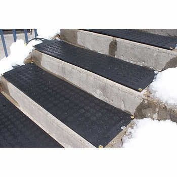 HOTflake™ Commercial / Residential Electric Heated Single Stair Tread