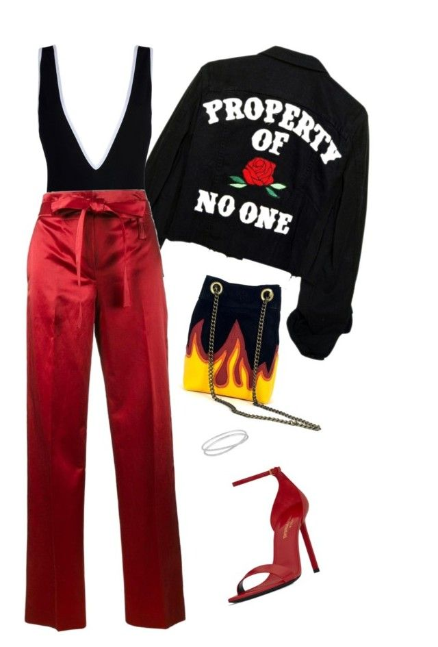 """*"" by heelsandgo on Polyvore featuring Givenchy, Helmut Lang, Yves Saint Laurent and Maison Margiela"