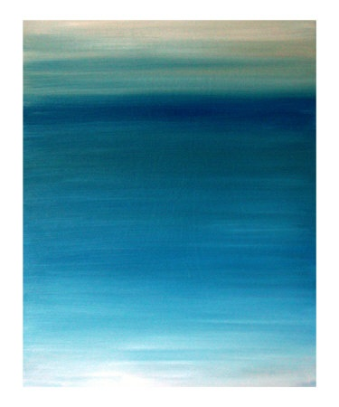 Ocean blue Giclee Print by Kenny Primmer