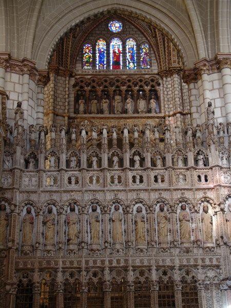 Coro de la Catedral de Toledo, realizado por A. Berruguete y F. Vigarny