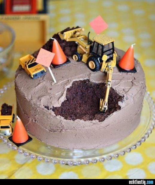 Baustellen-Torte