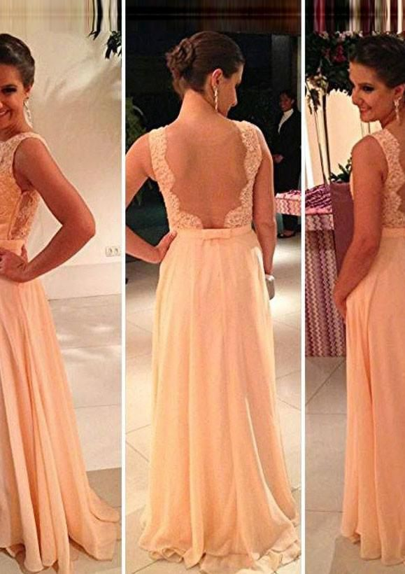 Elegant Cheap bridesmaid dress custom Buy Quality peach color bridesmaid dress directly from China bridesmaid dresses Suppliers All Fast Shipping