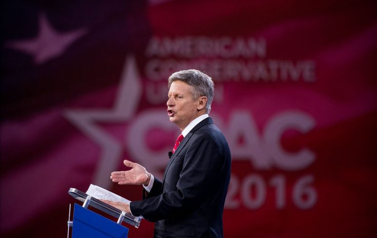 Could an Antiwar, Anti-Surveillance Libertarian Be the Biggest Beneficiary of Trump's Takeover of the GOP? Governor Gary Johnson garyjohnson2016.com
