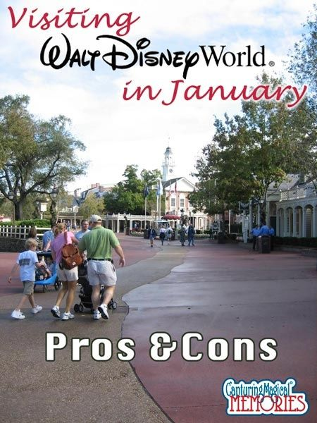 Pros and Cons of going to Disney World in January