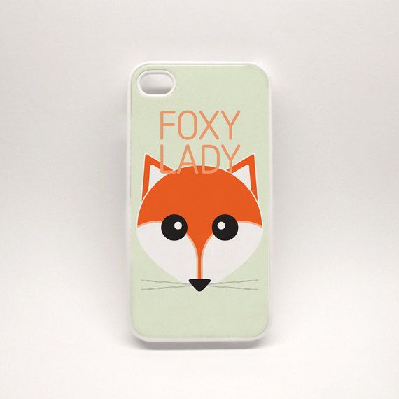 iPhone 5 Case - Foxy Lady : high quality reproductions from original izzybizzy illustrations
