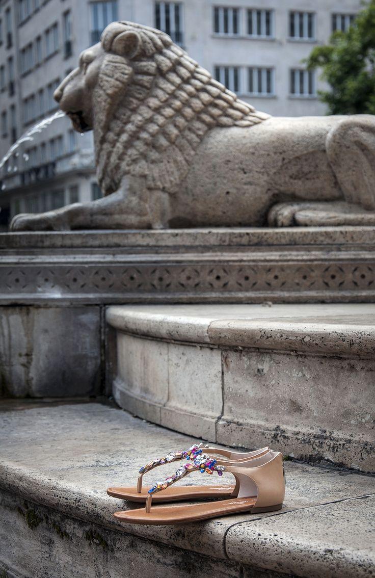 #jessicasimpson #sandals #women #shoes #fashion #budapest #summer #statue #lion #officeshoes http://www.officeshoes.hu/cipok-jessica-simpson/1094320/24/order_asc