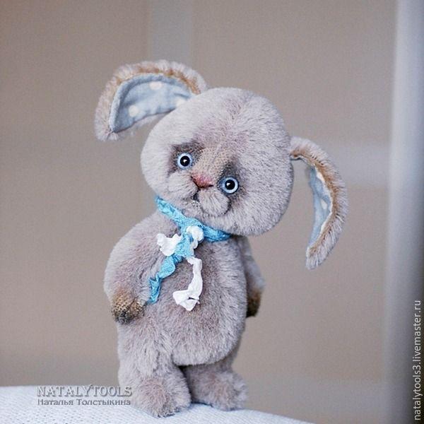 Мини-урок по армированию ушей у тедди-зайца - Ярмарка Мастеров - ручная работа, handmade