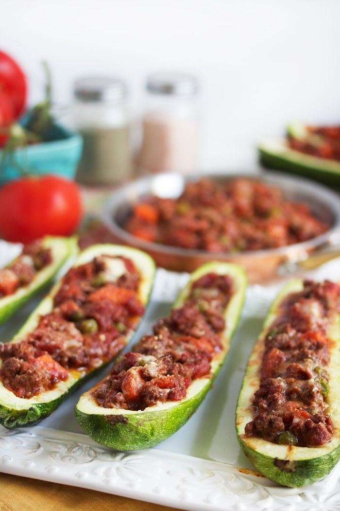stuffed zucchini boats stuffed zucchini boats clean meals clean eating ...