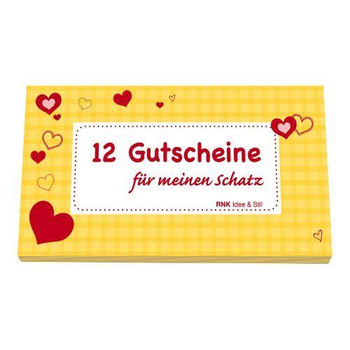 12 lustige und schöne Gutscheine für seinen Schatz! Überraschen Sie Ihren Liebsten/Ihre Liebste mit diesem schönen Gutscheinheft: Für meinen Schatz.