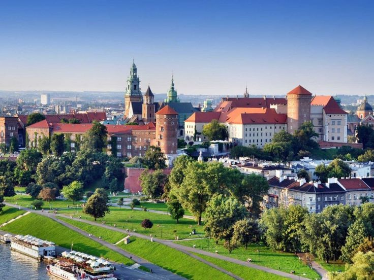 7. legszebb város a világon: Krakkó, Lengyelország