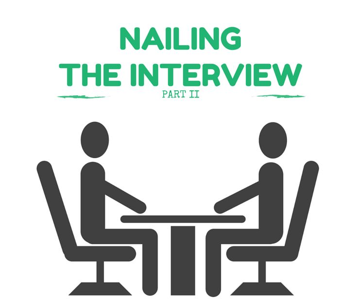 So you've landed the interview for your dream job, now what?  The below tips will help you nail the standard behavioral interview and get the job! How to Nail the Interview for Your Dream Job   Step 1 – Getting Past the Phone Screen The first person that reaches out to you about the job will most likely …