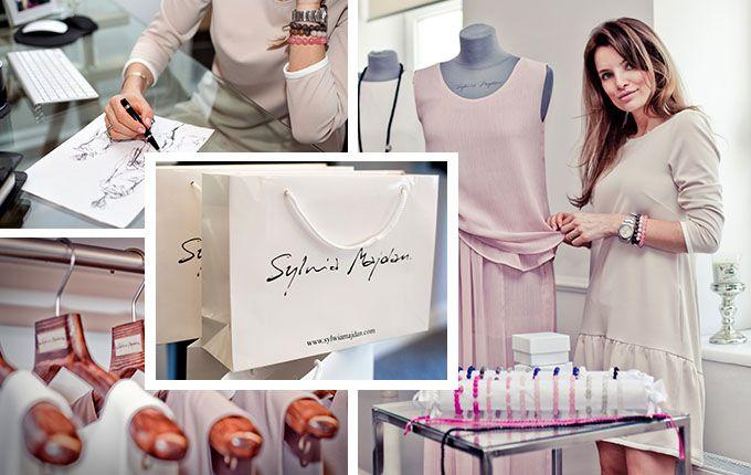 Sylwia Majdan - very feminine style - collections BASIC and PREMIUM / photo: Justyna Sierpińska, Adam Fedorowicz (studio  J|DESIGN); Modest Myśliwski / rostyleandlife.com