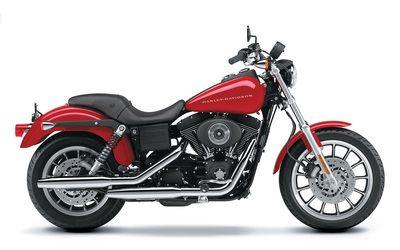 Harley Davidson Dyna FXDX Super Glide Sport wallpaper