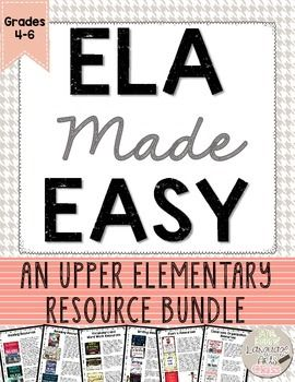 If you teach grades 4-6 and are looking to implement the Daily 3 with your students, this is the BUNDLE resource for you!  I have included each of my tried and true teaching tools that will make implementing the Daily 3--Reading, Writing, and Word Work, seamless.