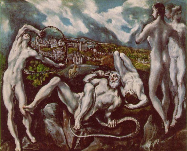 Laocoon. By El Greco: Art, Elgreco, El Greco, Painting, National Gallery