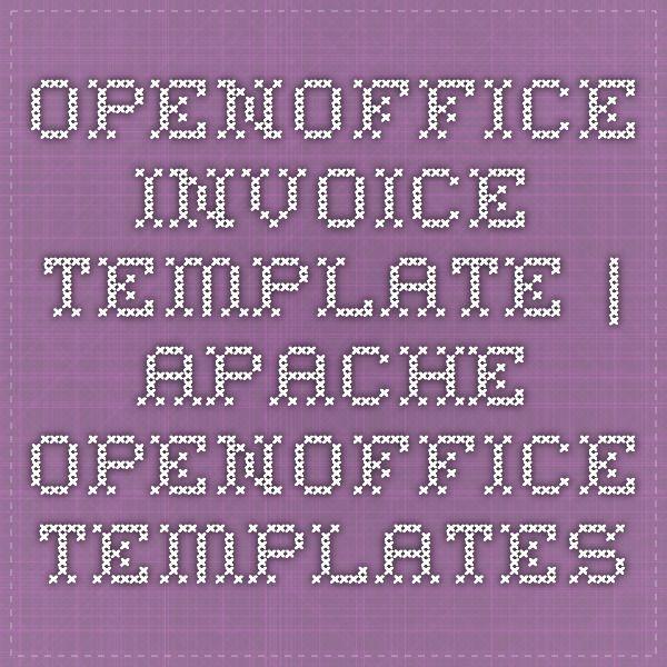 best 25+ apache openoffice ideas on pinterest   open office org, Invoice templates