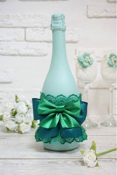 """Украшение на шампанское """"Сабина"""""""