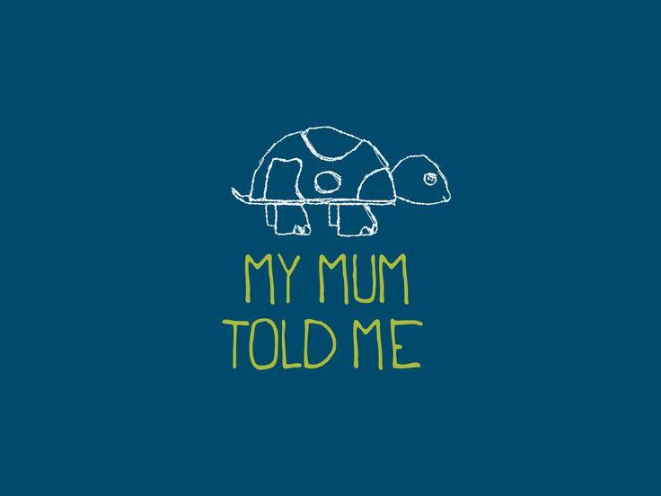 My Mum Told Me Logo  | Varró Joanna Design | Logo | Branding | Graphic Design…