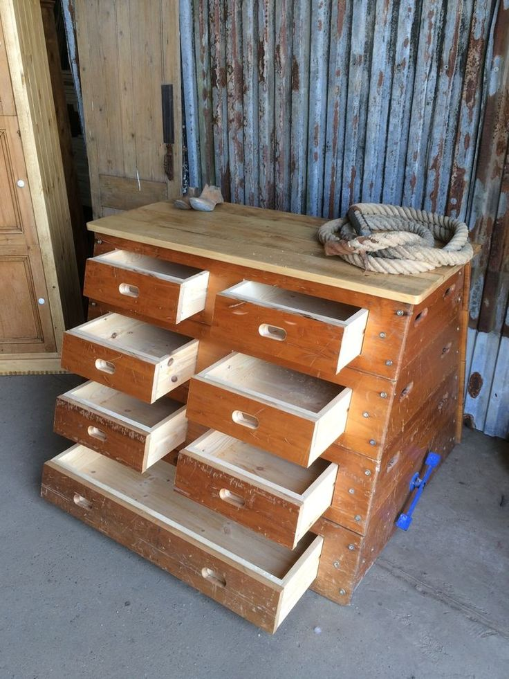 UPCYCLED VINTAGE OLD SCHOOL GYM POMMEL HORSE CHEST OF DRAWERS