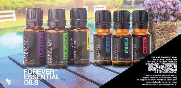 i Forever Essential oils sono selezionati, raccolti e prodotti con l'obiettivo di mantenere la più alta qualità. Il contenuto minerale del suolo, il clima il luogo e la sostenibilità sono tutti fattori presi in considerazione nella scelta del luogo di provenienza.  Scoprite i benefici dell'aromaterapia con le sinfonie di fragranze degli oli essenziali Forever